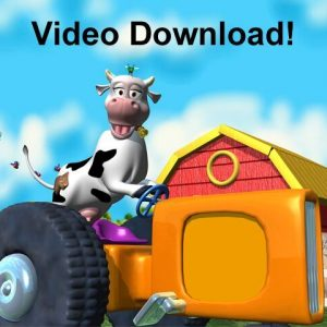 Black and White Cow Kids Video