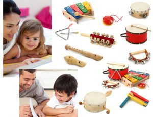 Using musical instruments with children