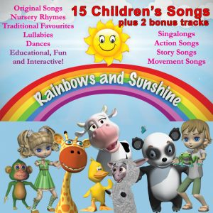 Downloadable album Rainbows and Sunshine
