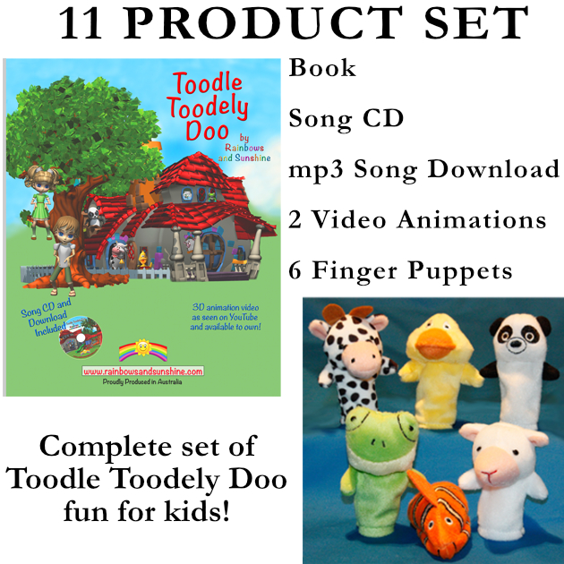 Toodle Toodely Doo 11 Product Set