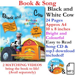 Black and White Cow Book and Song